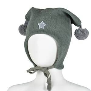 Joker hat star leaf green/grey - Kivat