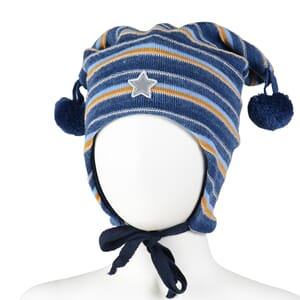 Striped hat star jeans - Kivat
