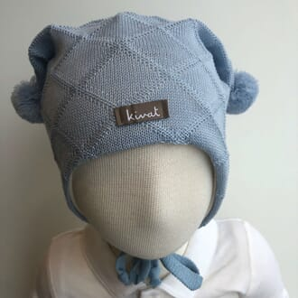 Cable hat light blue - Kivat