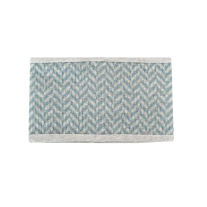 Headband with zigzag petrol wool - Kivat