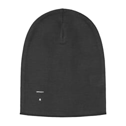 Beanie Nearly Black - Gray Label