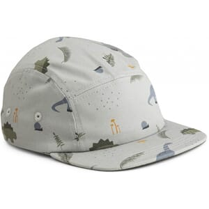 Rory cap dino blue mix - Liewood