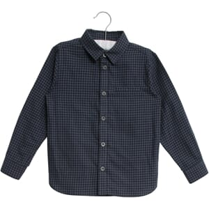 Shirt Kristian LS navy - Wheat