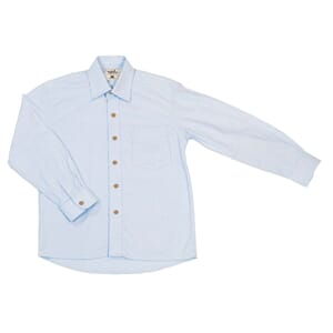 Boy Shirt Button ice blue - MeMini