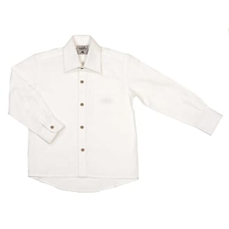 Boy Shirt Button ecru white - MeMini