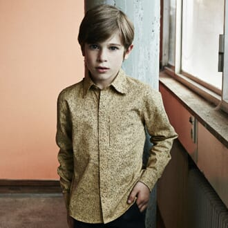 Gro Light Twill Shirt camel - Gro Company