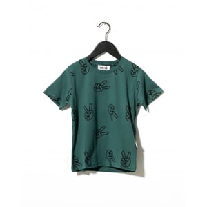 Willow T-shirt Green - Sometime Soon