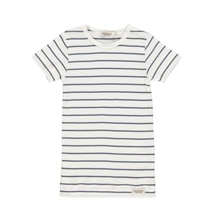 Plain Tee SS shaded blue stripe - MarMar