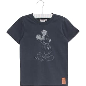 T-Shirt Mickey Chalk greyblue - Wheat