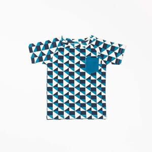 Sigurd T-shirt seaport it´s all about squares - Albababy