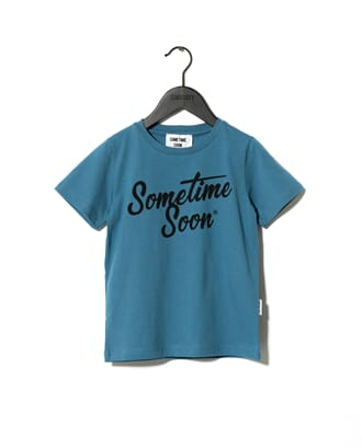 Sometime T-shirt Blue - Sometime Soon