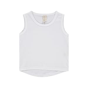 Classic Tank Top White Impr.Fit  - Gray Label