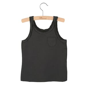 Tanktop Lily Pirate Black  -  Little Hedonist