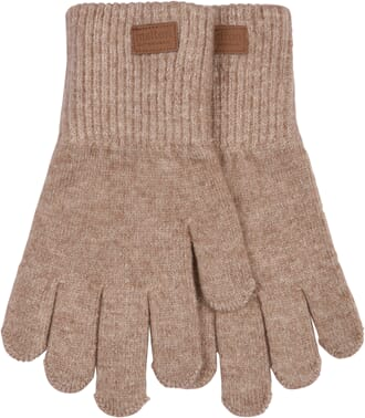 Wool Gloves Solid Colour chateau gray - Melton