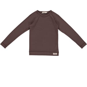Base Tee LS chocolate - MarMar
