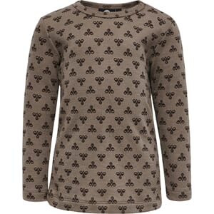 Vilmo T-Shirt L/S pine brown - Hummel