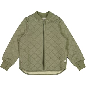 Thermo Jacket Loui green melange - Wheat