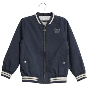 Bomber Jacket Alfie navy-melange - Wheat