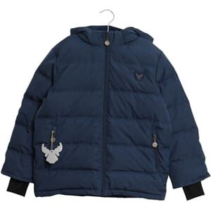 Down Jacket Noel blue - Wheat