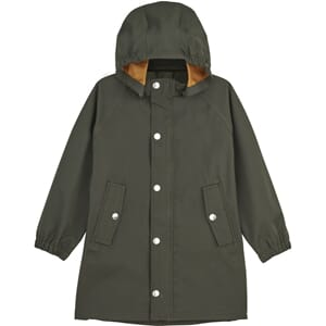 Spencer long raincoat hunter green - Liewood