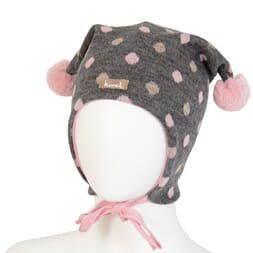 Hat with pink dots - Kivat