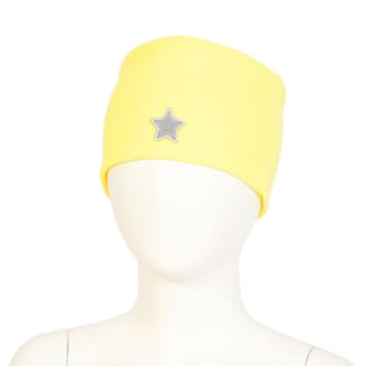 Headband windproof star yellow - Kivat
