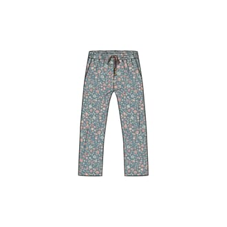 Trousers Tessa smoke blue - Wheat