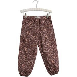 Trousers Malou soft eggplant - Wheat