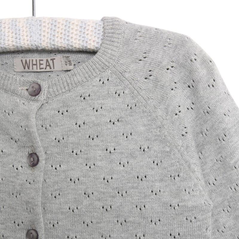 c6b3b577822 Knit Cardigan Maja melange grey - Wheat · 0519-561 - 0224 melange grey -  Extra 1 · 0519-561 - 0224 melange grey - Extra 2