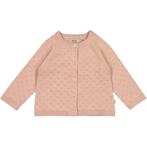 Knit Cardigan Maja misty rose - Wheat