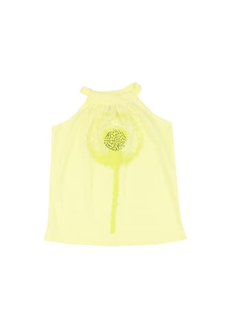 Single jersey basic top soft yellow - Gro company