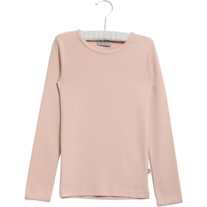 Basic Girl T-Shirt LS powder - Wheat