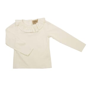 Heidi White Top fw19 Egret white - MeMini