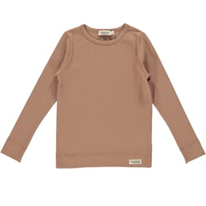 Plain Tee LS rose blush - MarMar