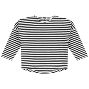 L/S Dropped Shoulder Tee - Gray Label