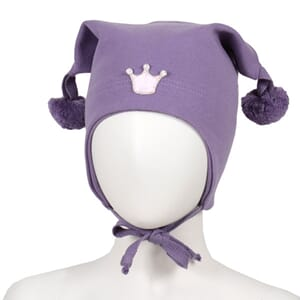 Windproof hat crown purple  - Kivat