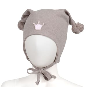 Windproof hat crown beige - Kivat