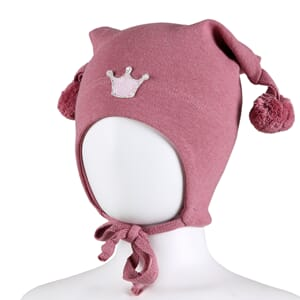 Windproof hat crown warm pink - Kivat