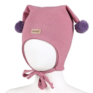 Windproof hat warm pink/purple - Kivat