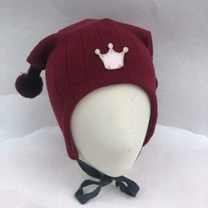 Joker hat crown burgundy - Kivat