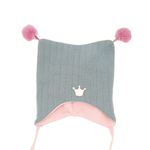 Joker hat crown petrol/pink - Kivat
