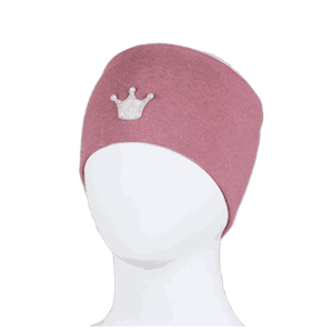 Windproof headband crown warm pink - Kivat