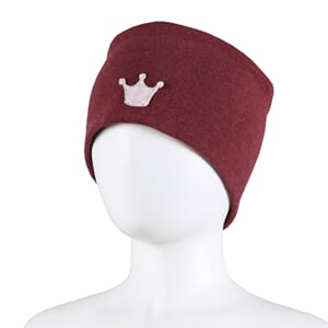 Windproof headband crown burgundy - Kivat