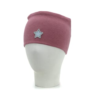 Headband windproof star warm pink - Kivat