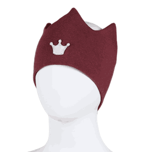 Crown headband burgundy - Kivat