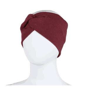 Bow headband burgundy - Kivat