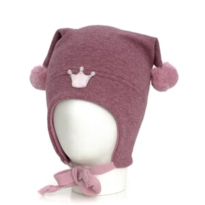 Windproof hat crown wo/co warm pink/pink - Kivat