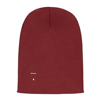 Beanie Burgundy - Gray Label