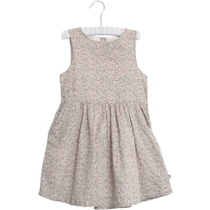 Dress Thelma eggshell - Wheat