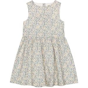Dress Vera ivory flowers - Wheat